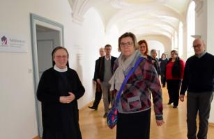 Schwester Angela, die gute Seele des Hauses und des Vereins