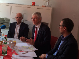 Dr. Friedrich Zeller, Bernhard Roos und Andreas Lotte