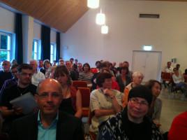 Blick ins Publikum mit Landrat a. D. Dr. Friedrich Zeller