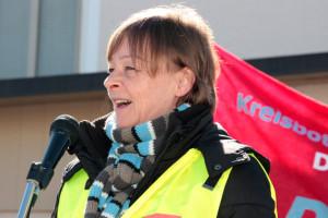 Sabine Pustet - Gewerkschaftssekretärin bei verdi (Foto: Erich Guttenberger)