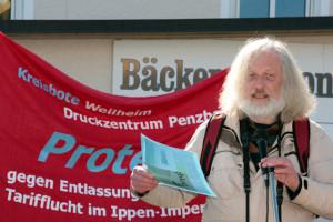 Auch ein Vertreter des DGB war hier (Foto: Erich Guttenberger)