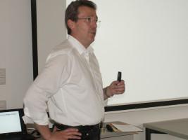 Karl-Heinz Gerbl als Referent und Moderator