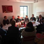 Diskussionrunde in der SPD-Geschäftsstelle