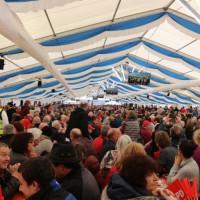 Festzelt Vilshofen beim politischen Aschermittwoch